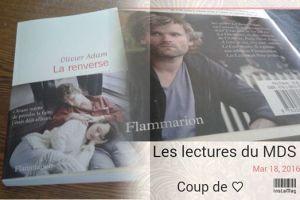 La Renverse parmi les trois finalistes du Prix des Libraires 2016. Verdict en mai...