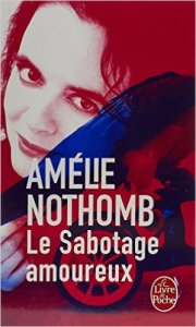 """la rencontre se situe en 1993, après la sortie du 2e roman d'Amélie Nothomb, """"Sabotage amoureux"""""""