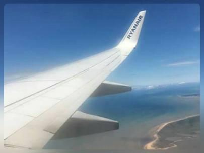 Au dessus de l'Île de Ré....